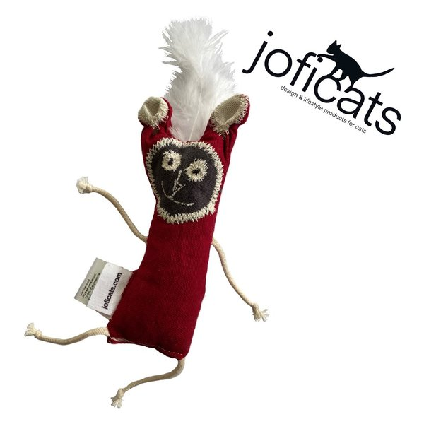 Joficats - Wiggly Wendy - cuddly toy for cats  - handmade