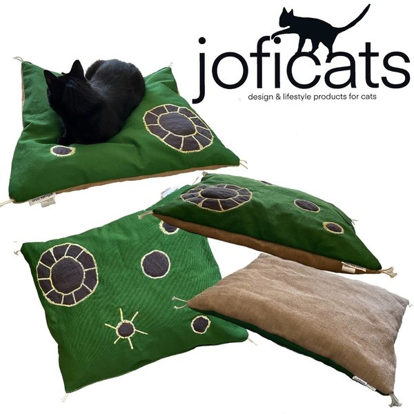 Joficats - comfort catbed with kapok and catnip filling - handcrafted